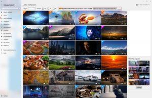 Hintergrundbilder Auswahl
